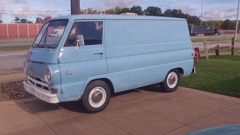 1967 Cargo Van Euclid Oh Cargo Van Van Gmc Vans