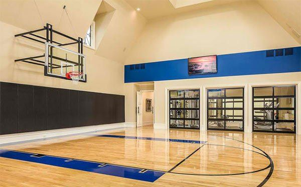 15 Ideas for Indoor Home Basketball Courts | Ideas for House ...