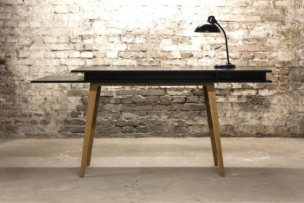 Sigurd Larsen_The Black Desk Front_Danish Furniture