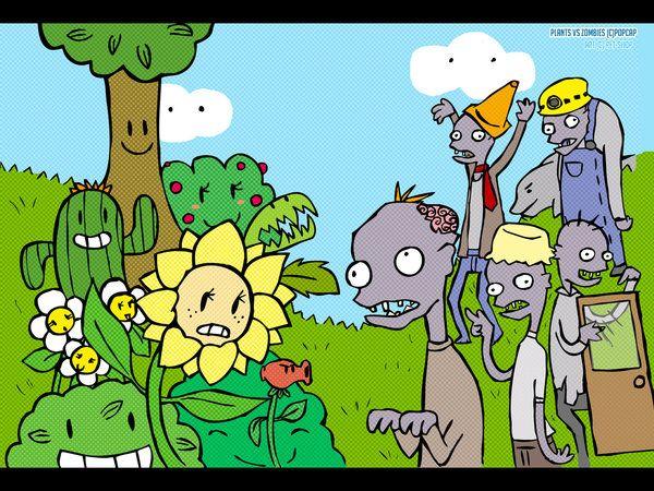 Plant Vs Zombies Wallpaper By Pet Shopdeviantart On DeviantArt