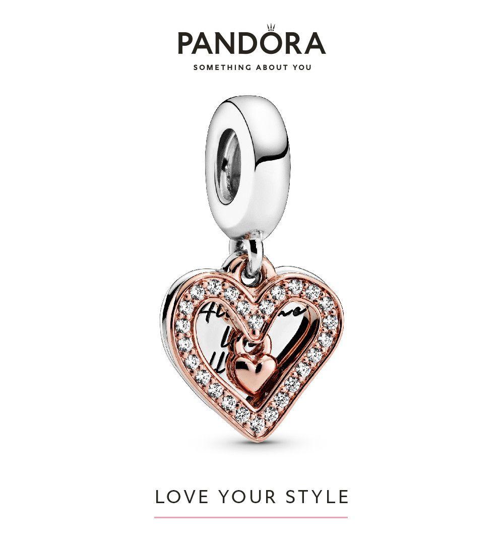 Cute Silver Tone Not Just Love Modern Heart Love Dangle Charm fits Euro Bracelet