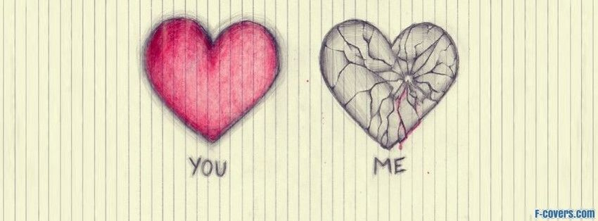 broken hearts facebook covers
