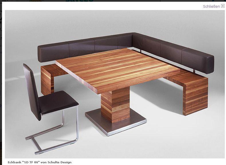 Eckbank modern küche  Schoener Wohnen | Möbel | Pinterest | Eckbank, Schöner wohnen und Wohnen