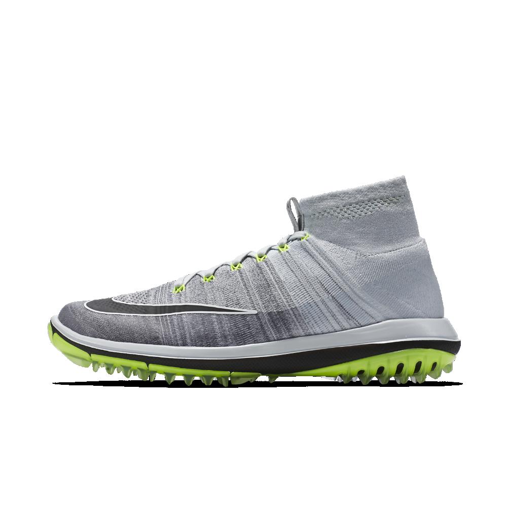 b368b1756df8 Nike Flyknit Elite Men s Golf Shoe Size 10.5 (Silver) - Clearance Sale ·  Nike MenAdidas ...