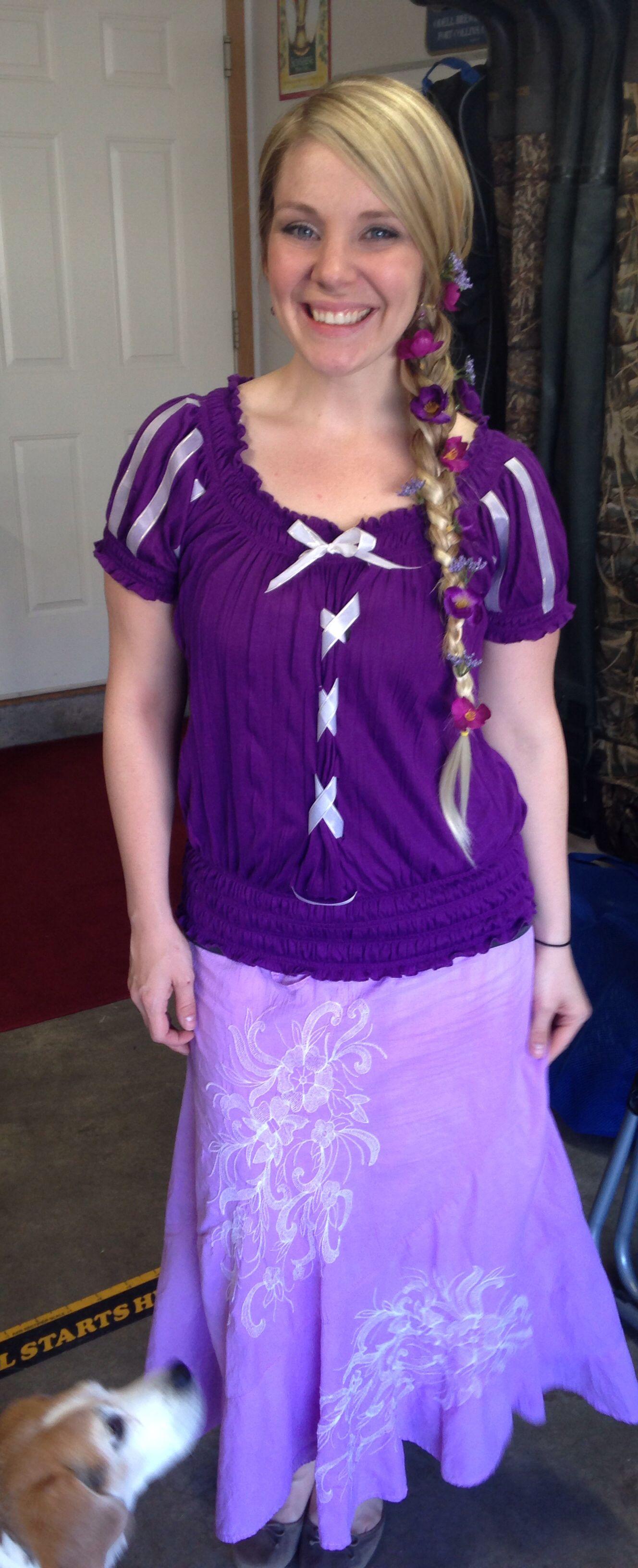 Diy adult rapunzel costume tangled my pins pinterest diy adult rapunzel costume tangled solutioingenieria Images