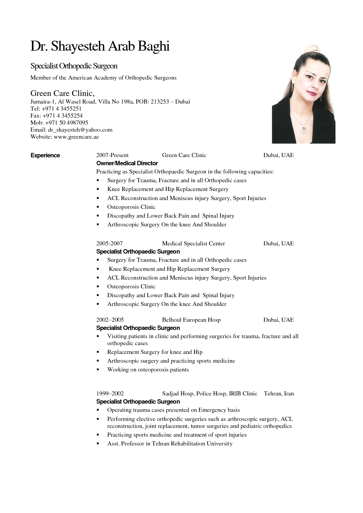 Resume Format Uae Job Resume Format Resume Format Resume