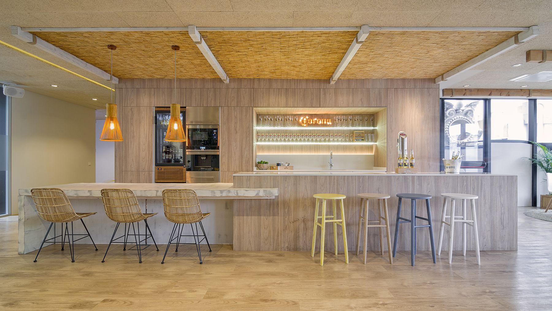 Cocina De Una Multinacional De Nuestra Tienda De Muebles De Cocina  # Muebles Muebles De Cocina
