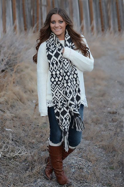 Pillow Thought: Perfect Winter Outfit + West Fourth Street Giveaway