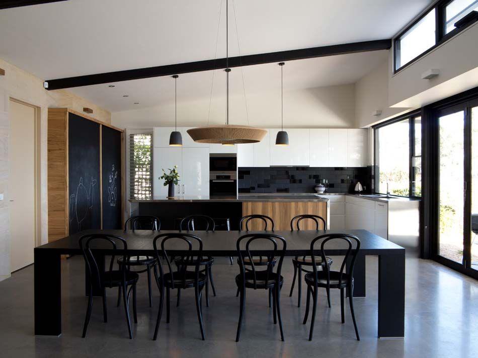 Le Tableau Noir Une Idée De Déco Cuisine Créative Et Conviviale - Tableau cuisine design pour idees de deco de cuisine
