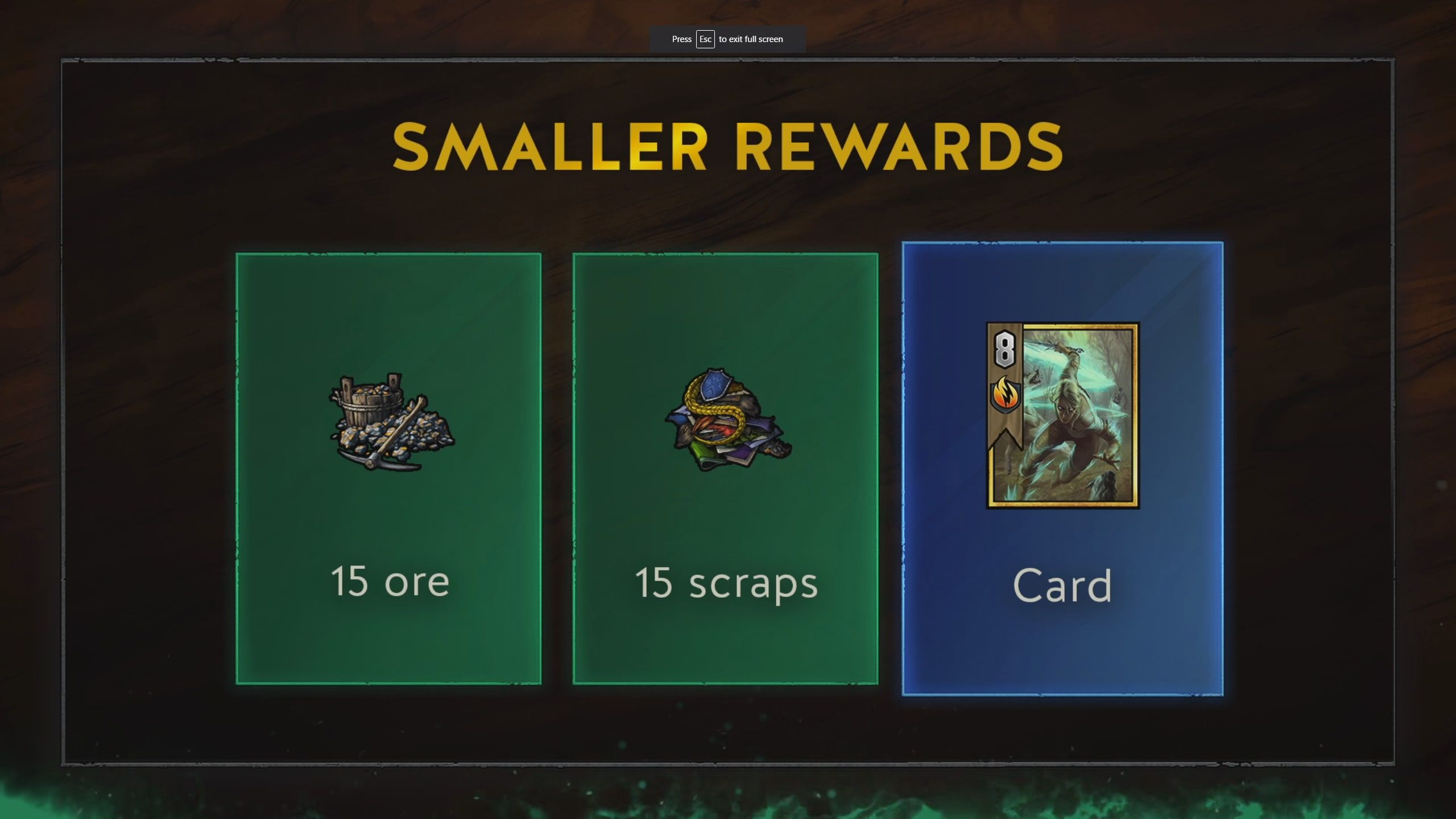 Gwent progression and leveling explained - smaller rewards