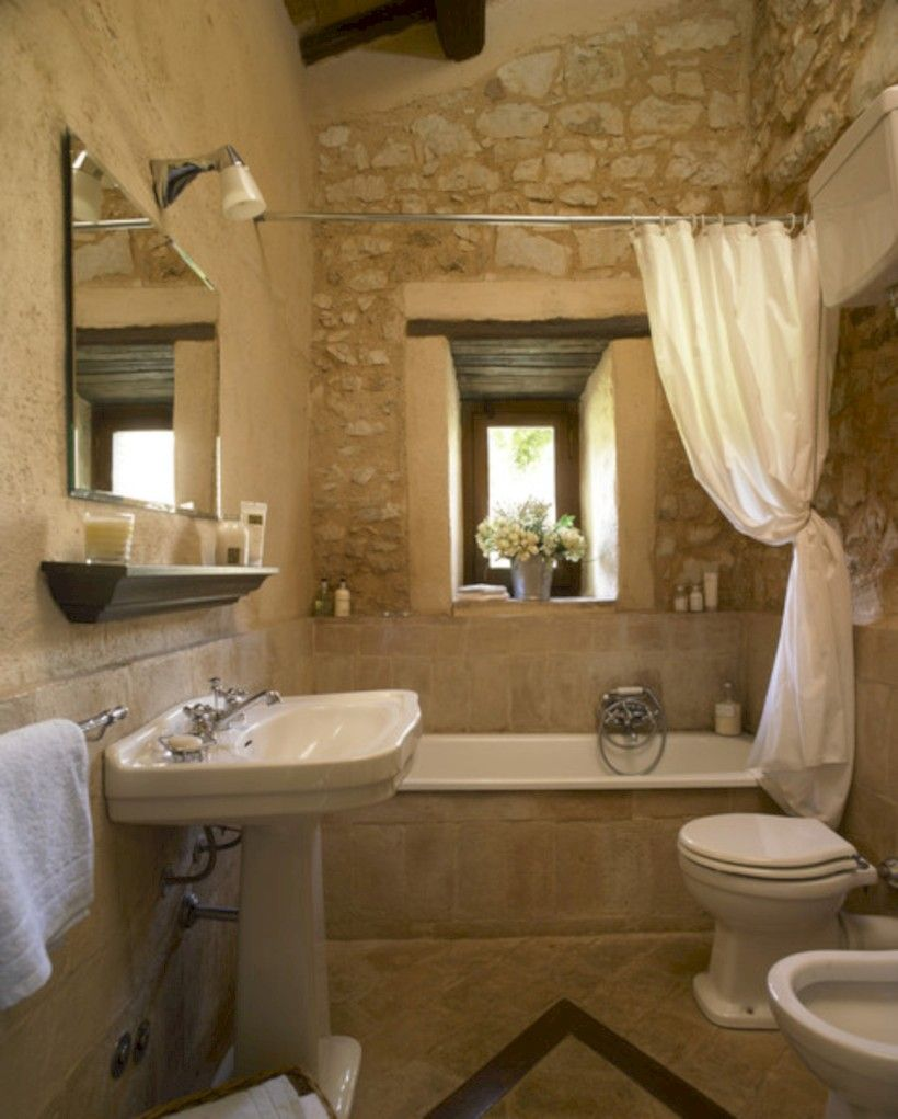 54 Small Country Bathroom Designs Ideas  Small Country Bathrooms Amazing Small Country Bathroom Design Decoration