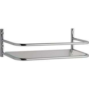 Buy Bathroom Over Cistern Shelf Chrome At Argos Co Uk Visit Argos Co Uk To Shop Online For Bathroom Shelves And Units Chrome Bathroom Shelves Chrome Bathroom