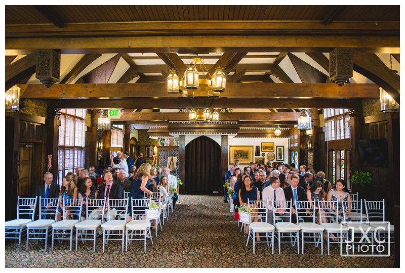 Wedding Ceremony At The Wellshire Event Center Colorado Wedding Venues Denver Wedding Photographers Denver Wedding Photographer Denver Wedding Event Center