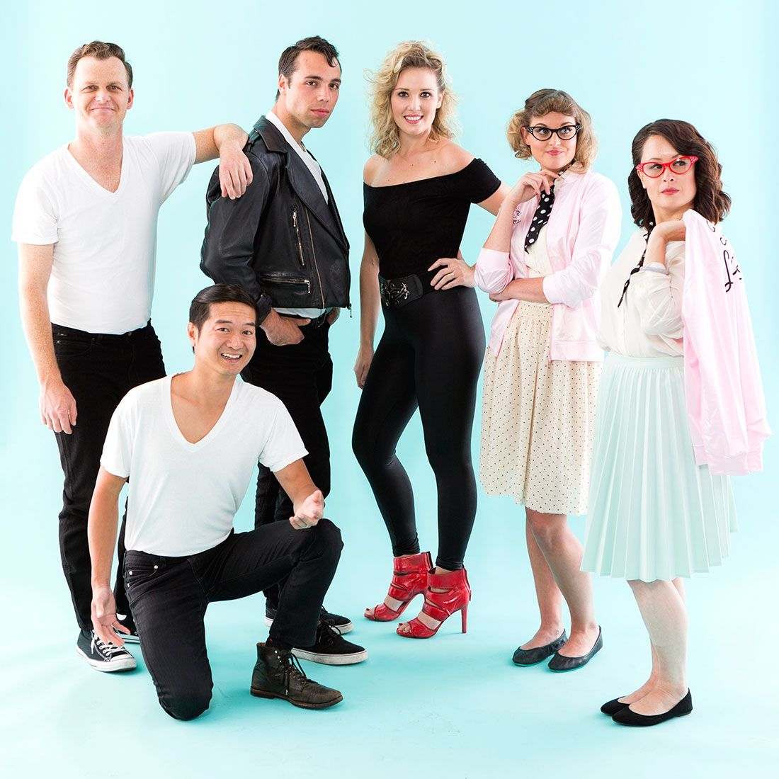 This Grease Group Halloween Costume Is Electrifying Diy