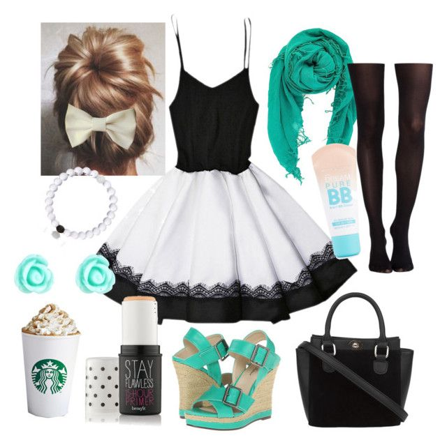 """""""Untitled #196"""" by multifandomtrash ❤ liked on Polyvore featuring moda, Chan Luu, Michael Antonio, Benefit, Everest, Accessorize, SPANX i Maybelline"""