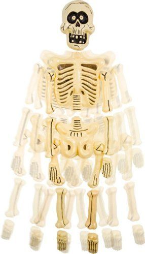 Scary Big Head Jangles Skeleton Prop by BOS. $22.99