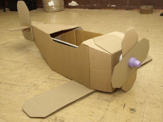 Kim Blog Cardboard Airplane Templates Logan Halloween