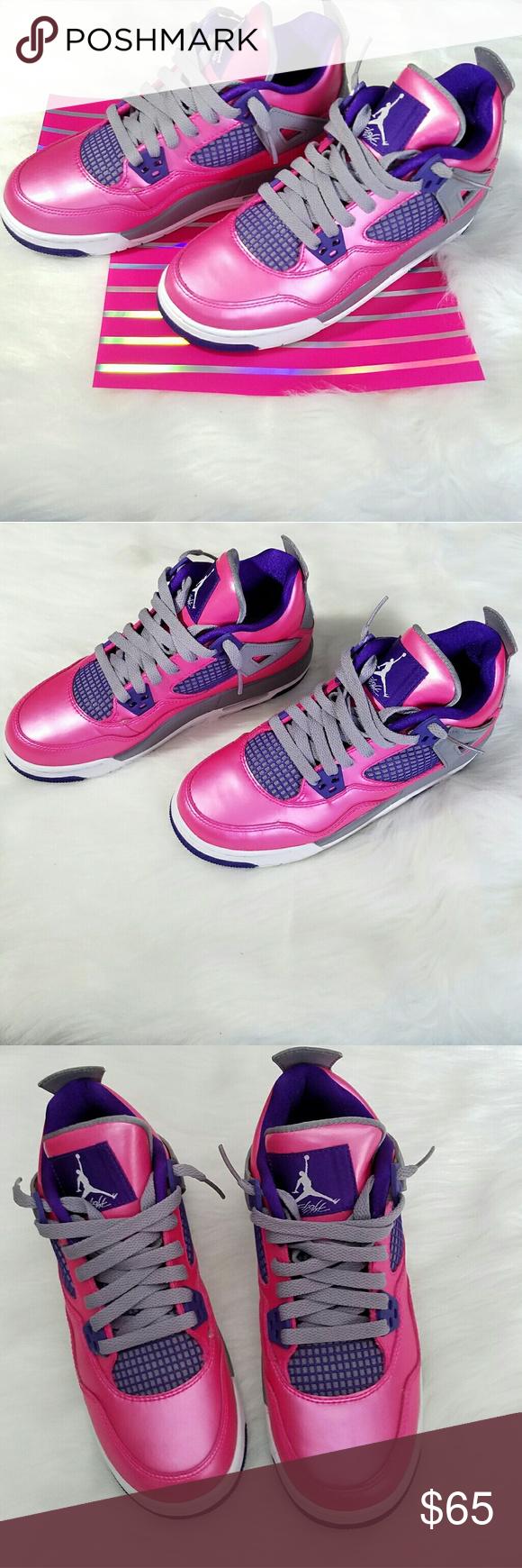 8ba6e51034a Spotted while shopping on Poshmark  Nike Air Retro 4 Jordan s Girls Size  4.5Y Youth!  poshmark  fashion  shopping  style  Jordan  Other