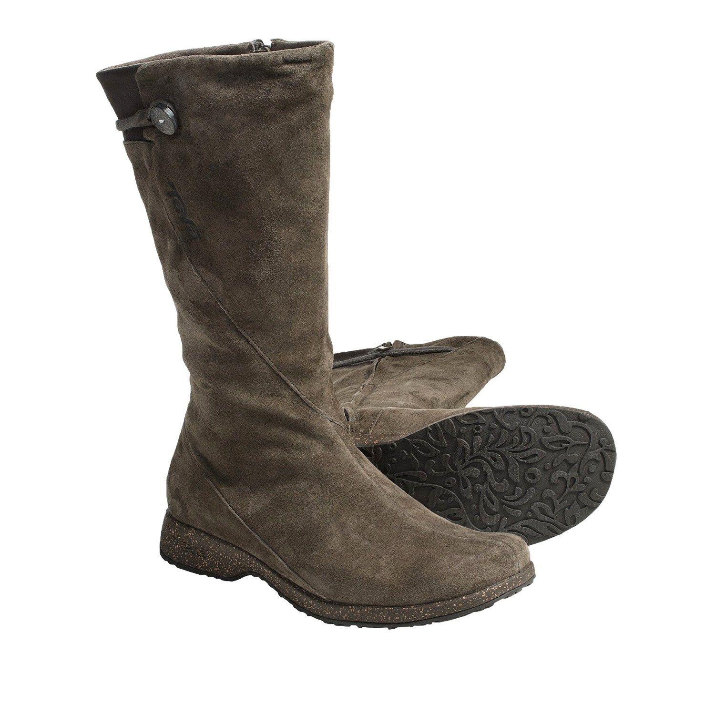 d8e3bf25287240 Teva Montecito Boots - Suede (For Women) in Gunsmoke