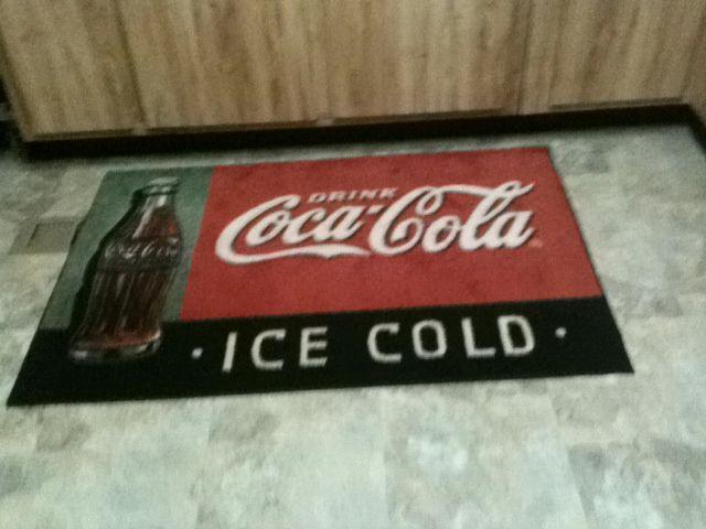 My rug in kitchen Im a coca cola collector – Coca Cola Kitchen Rug