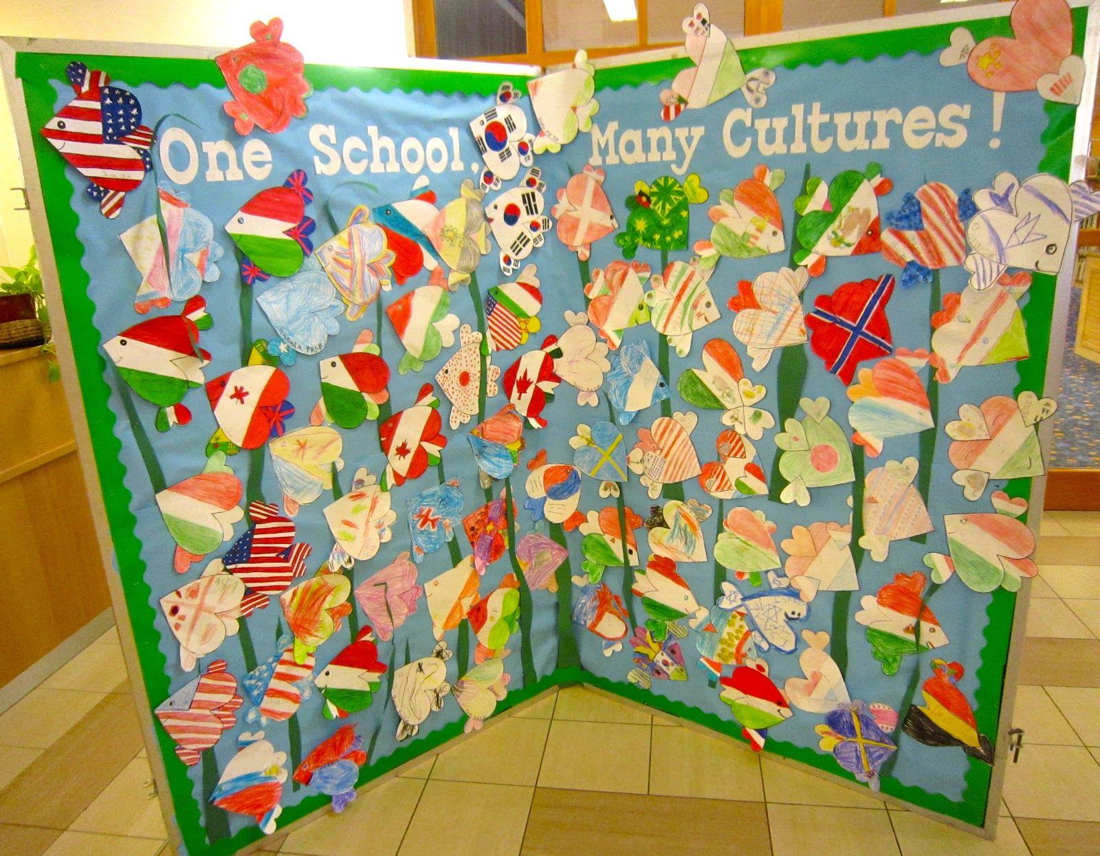 International Day School Decoration