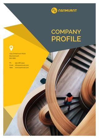 Company Profile Design Template V 6 | Book - Catalogue