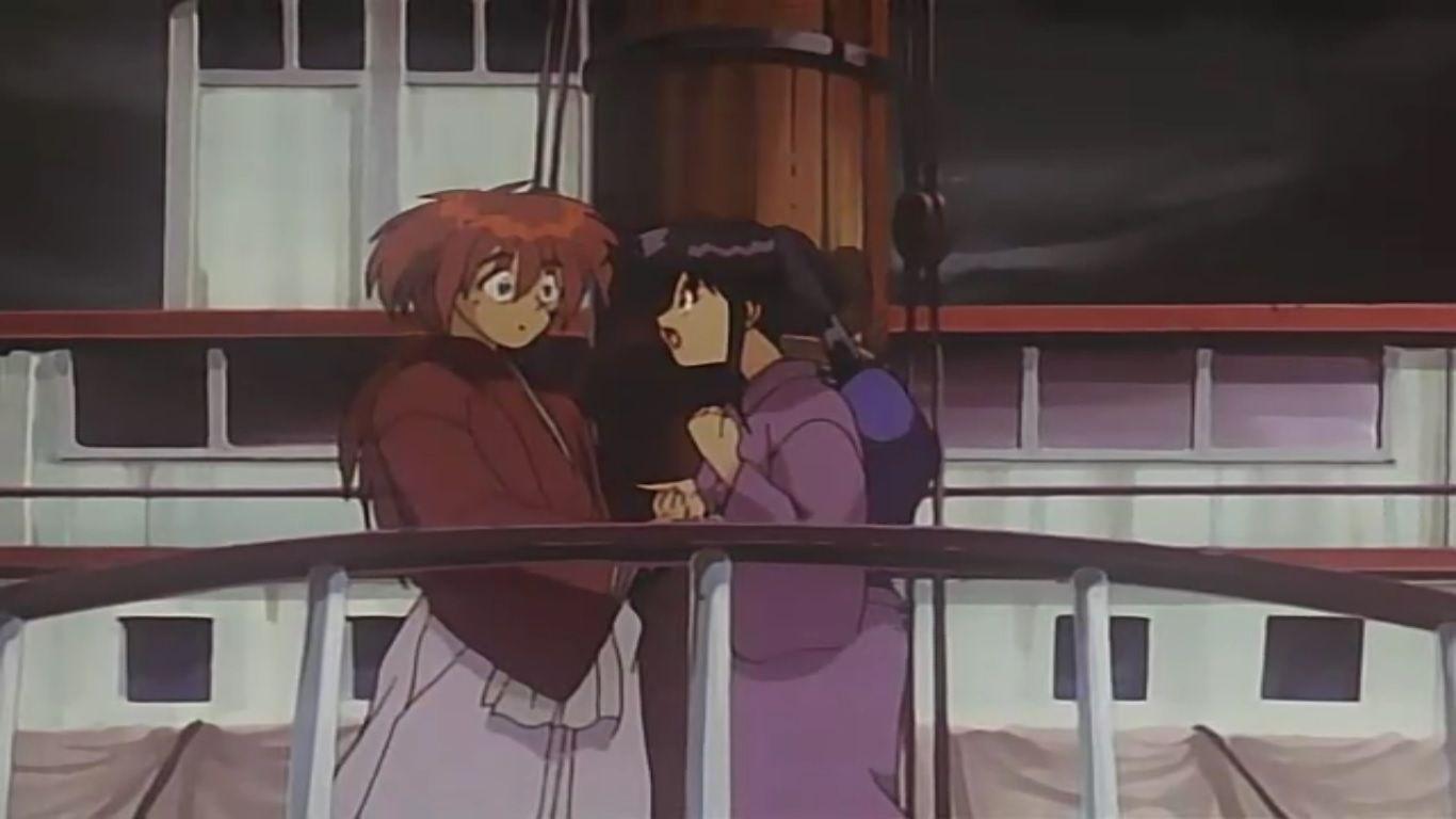 Kaoru crazy to kiss Kenshin | Anime, Imagens