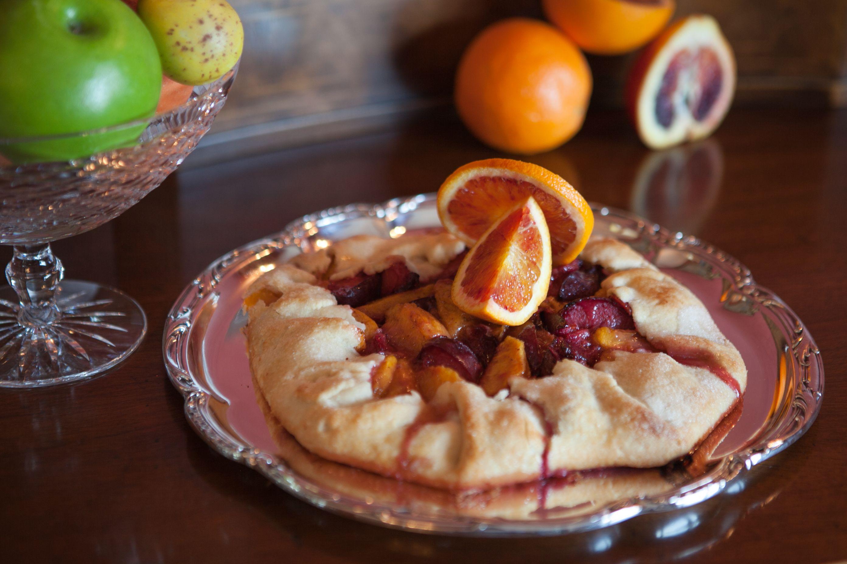 Peach-Plum Galette - Kosher By Gloria   Food processor