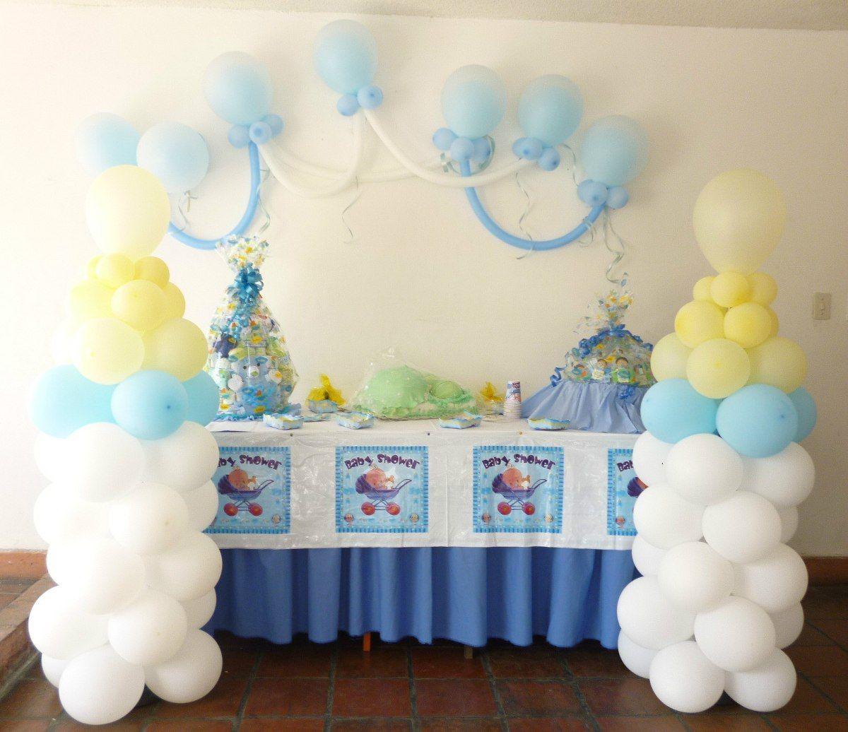 decoracion con globos para fiestas infantiles sencillas