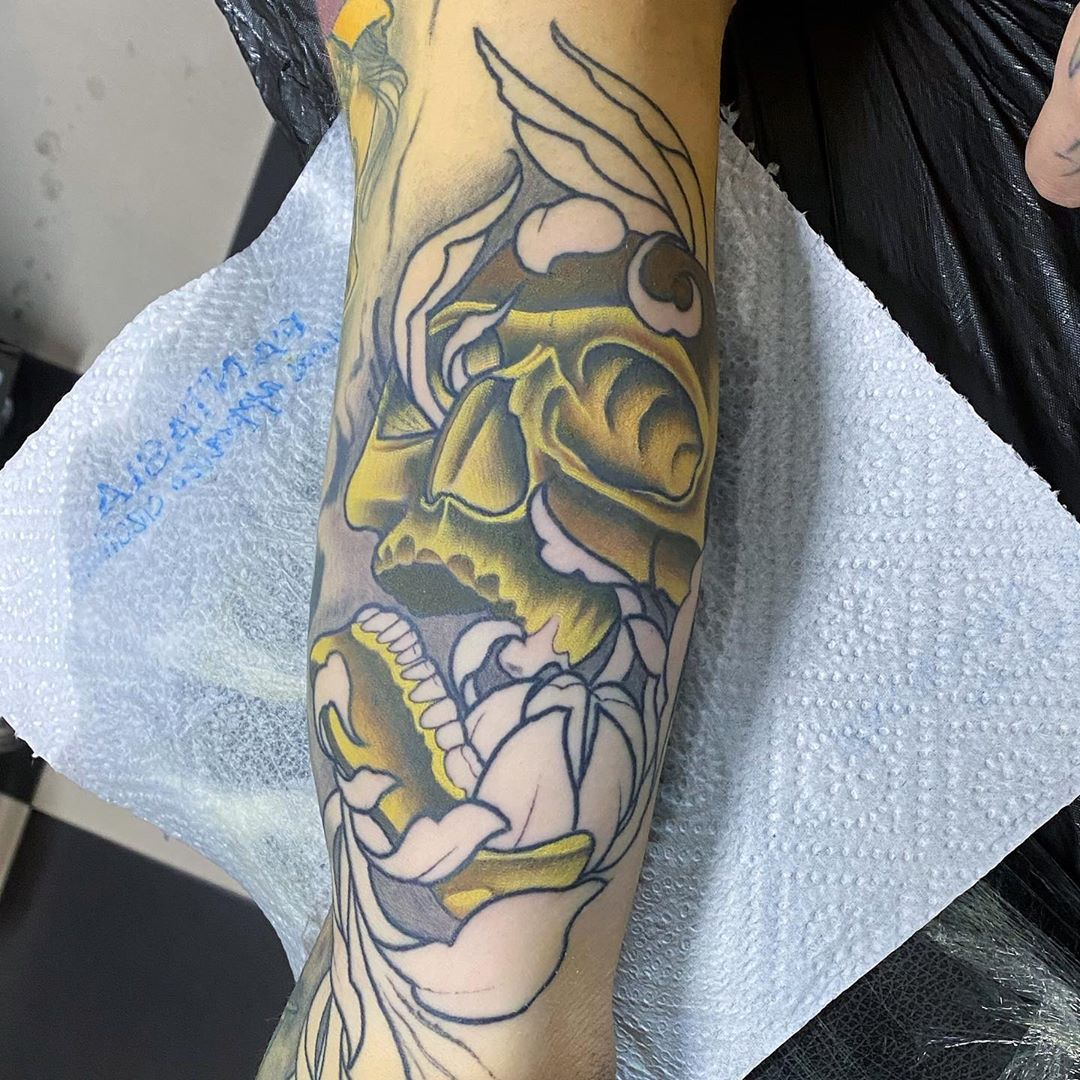 Work in progress ☠️☠️☠️ @mirameas_ #tattoo #tattoos #tattooed #tattooer #tattooing #tattooist #tattooartist #tattooart #tattooartistmagazine #tattoodesign #neotraditional #neotraditionaltattoo #ink #inked #inking #inkedmag #inkmaster #inktattoo #inkdrawing #tatuaggio #tatuatoriitaliani #grosseto #toscana #drinknmrbrighttattoolab