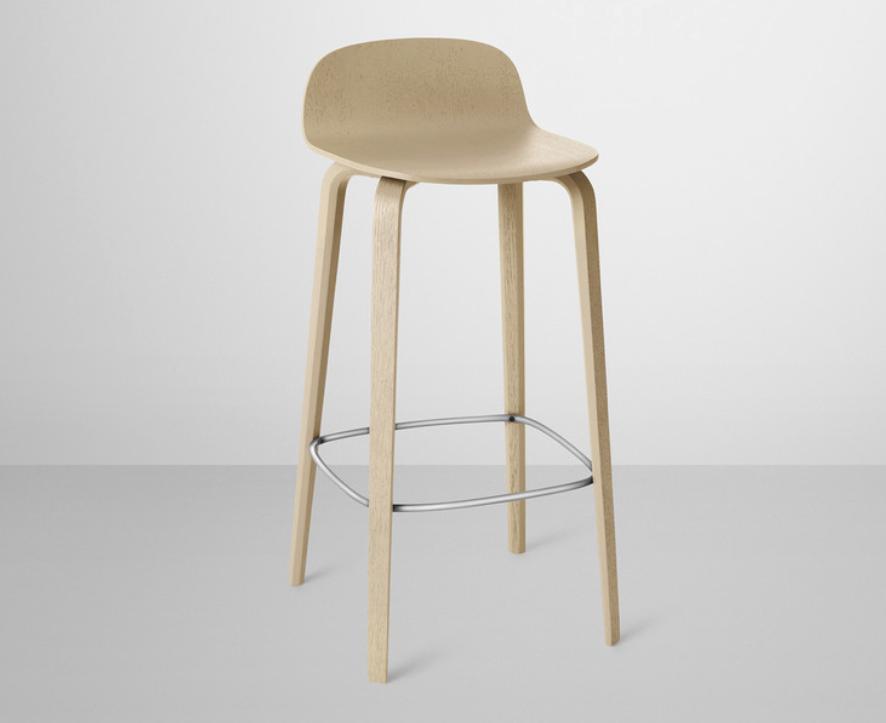 Muuto Nerd Stoel : Muuto visu bar stool kitchen bar stools