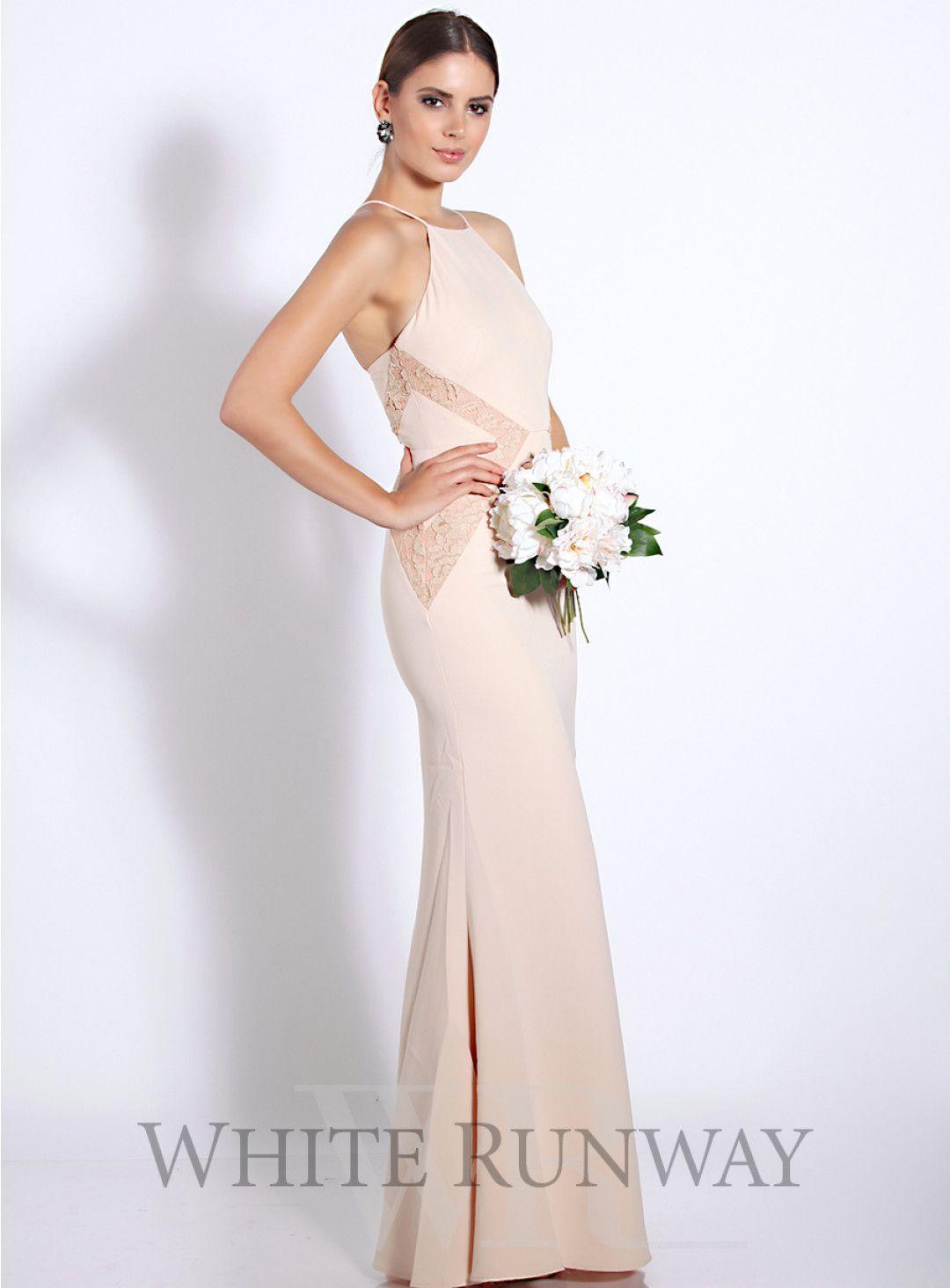 Isabella dress a stunning full length dress by australia designer