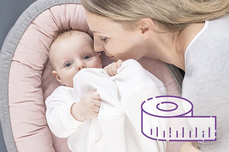 Dein Baby schläft schlecht und scheint nicht mehr satt zu