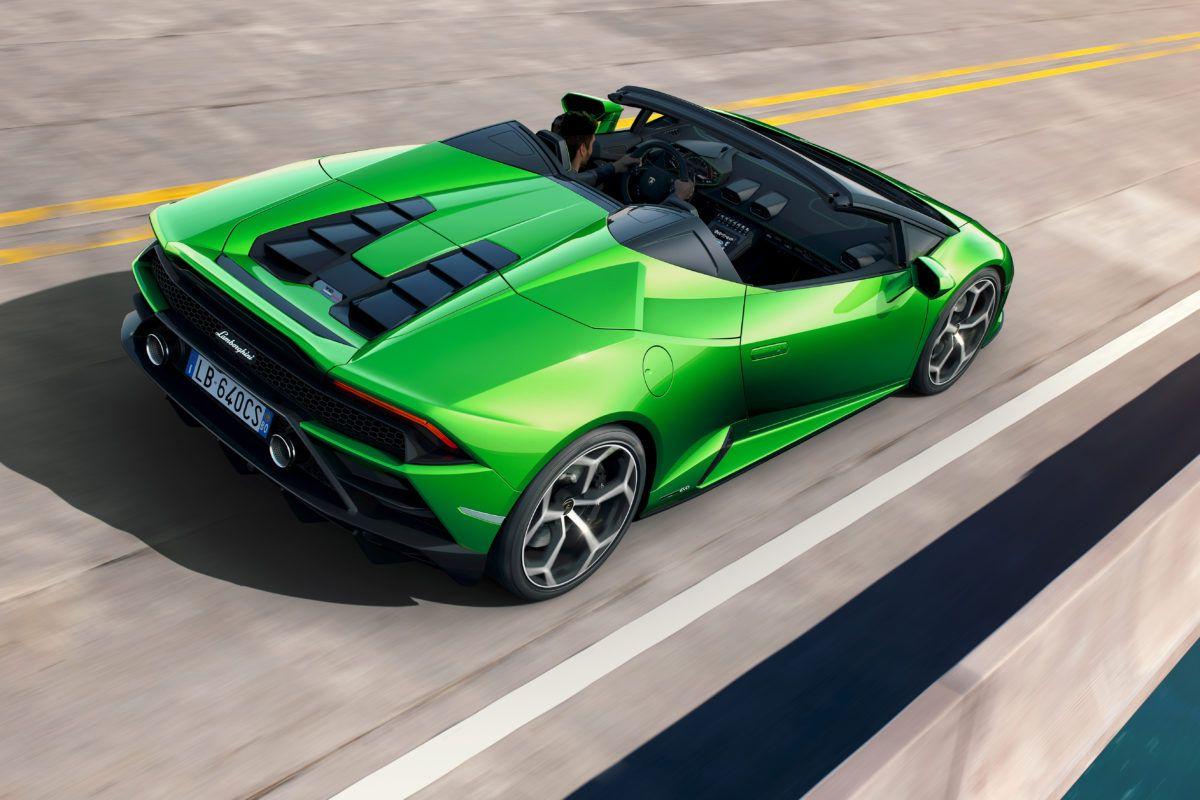Lamborghini Huracán Evo Spyder Drive Ride Worldwide