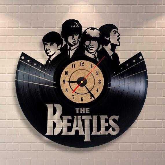 Beatles Vinyl Record Clock $34.95