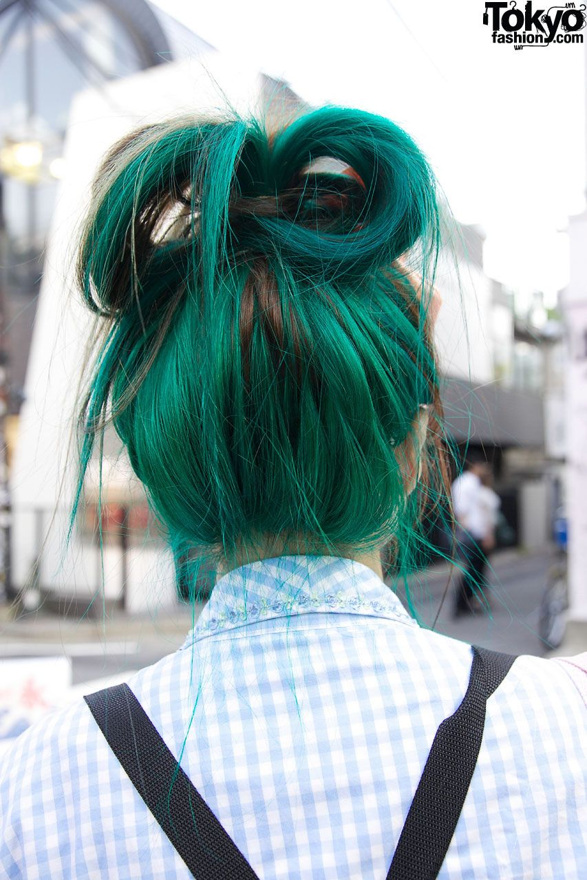 Tavuchi green hair hår pinterest much on and green hair