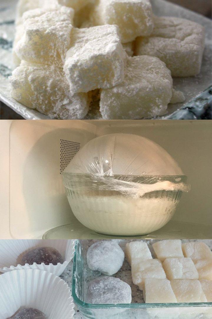 Microwave Mochi Recipe | Recipe | Mochi recipe microwave ...