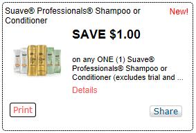 $1/1 Suave Professionals Hair Care Coupon = FREE Smith's Deal - Coupons 4 Utah | Coupons 4 Utah