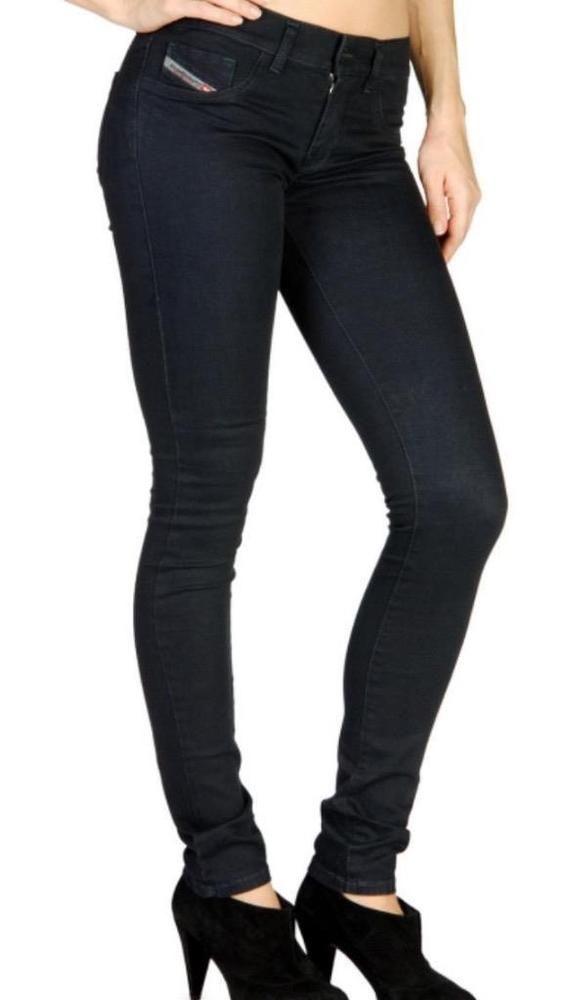 b4fb7a0b Women's Jeans DIESEL Size 31 Livier Super Slim Jegging Low Waist NWT Rinse  Wash #DIESEL #LeggingsSlimSkinny
