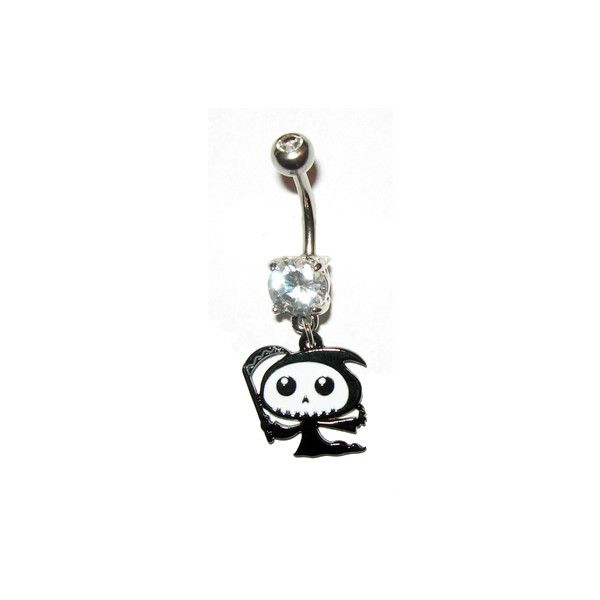 Belly Rings, Inexpensive Belly Rings and unique belly button rings at... ❤ liked on Polyvore featuring jewelry, belly button rings jewelry and belly rings jewelry