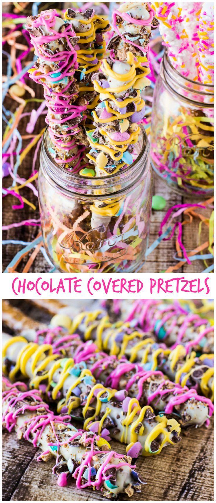 Easy Homemade Chocolate Covered Pretzels | deliciouslysprinkled.com