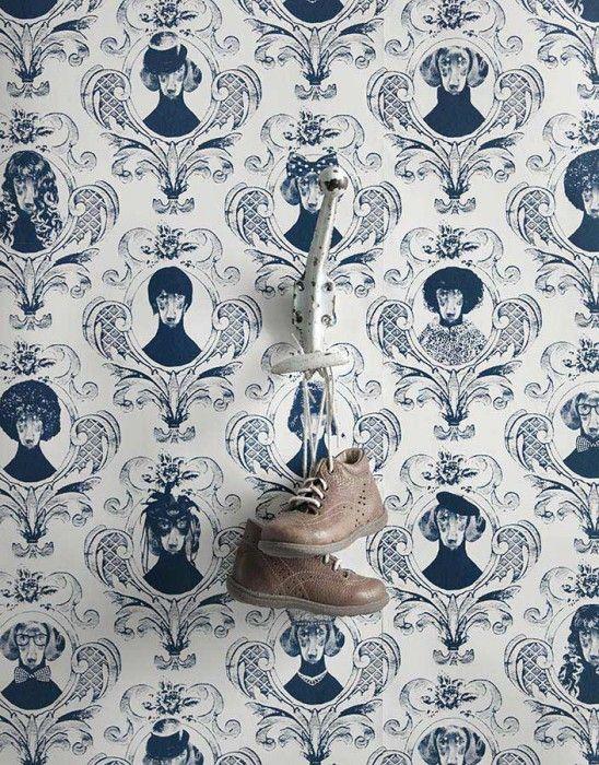 tillsammans wohnen pinterest tapeten dunkelblau und glatt. Black Bedroom Furniture Sets. Home Design Ideas