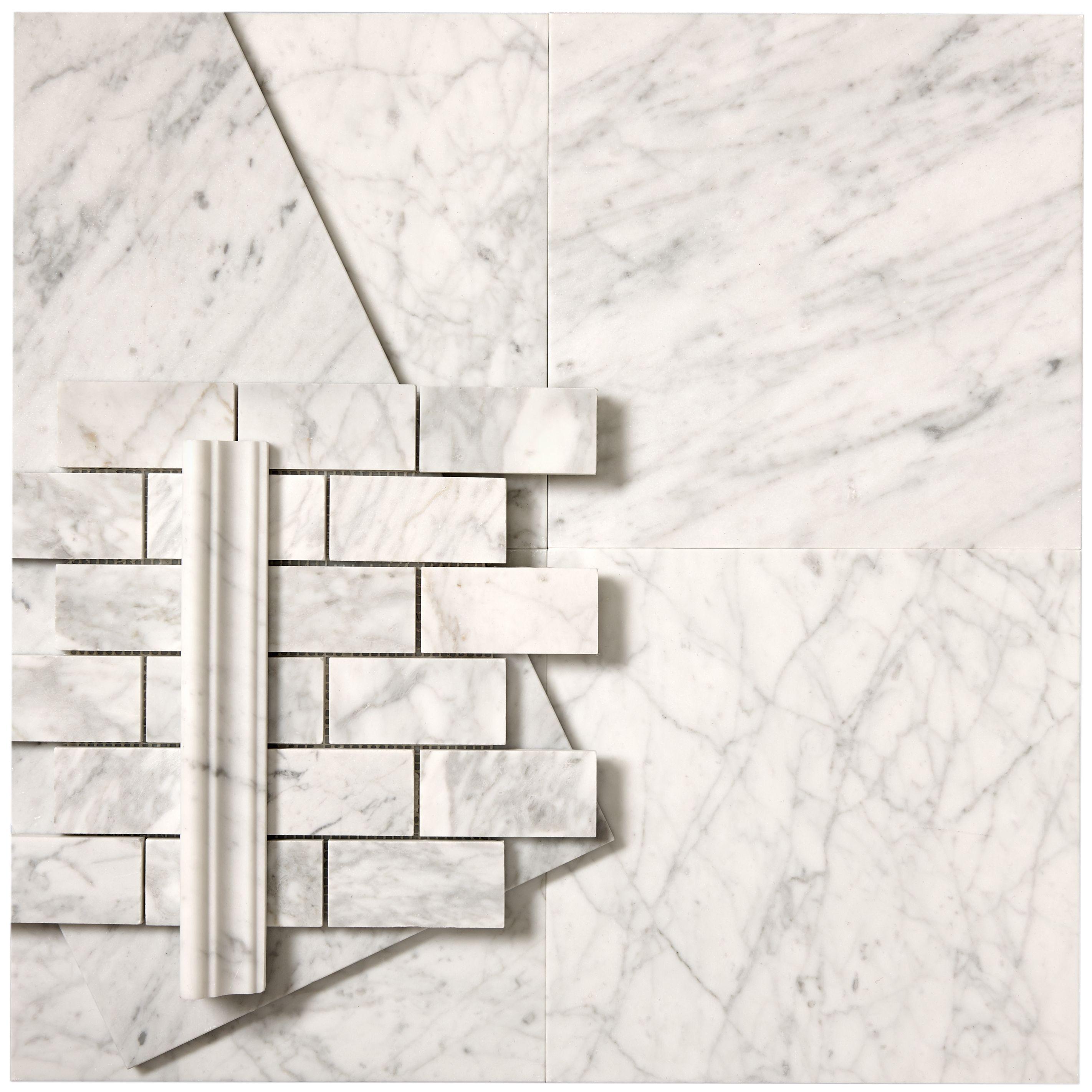 Classic Carrara Marble Bathrooms: Waterworks Carrara-classic And Pretty