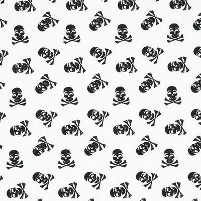 Cotton Skull 2 - Baumwolle - schwarz