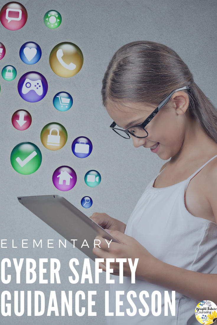 CYBER SAFETY PowerPoint Guidance Lesson Activities & Game