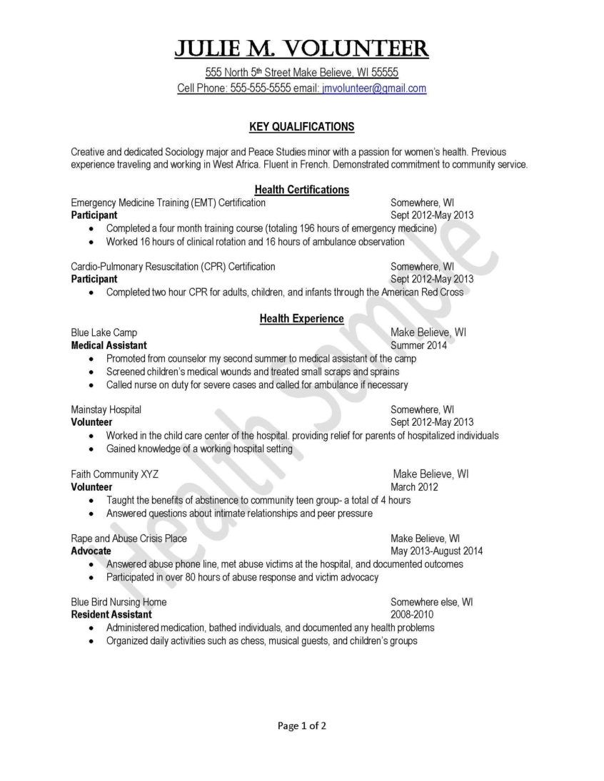 Resume Sample Volunteer Resume Template New Sample Student Intended For Community Service Template Word In 2020 Resume Examples Good Essay Peace Studies