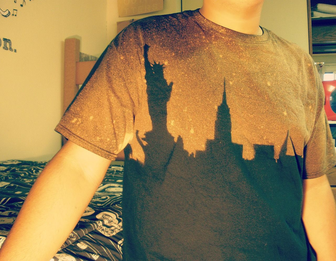 DIY Projects For Teens | bleach shirt | Tumblr | To Do ...