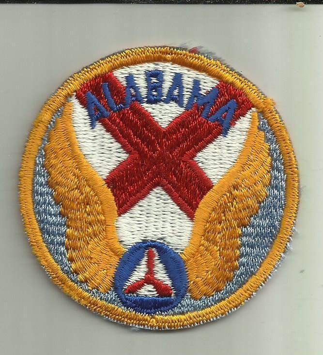 Alabama Wing Civil air patrol, Military logo, Historical