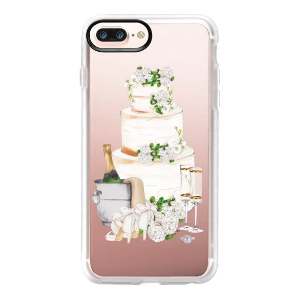 Bride To Be - iPhone 7 Plus Case And Cover (€34) ❤ liked on Polyvore featuring accessories, tech accessories, iphone case, iphone cover case, apple iphone case, iphone cases and clear iphone case