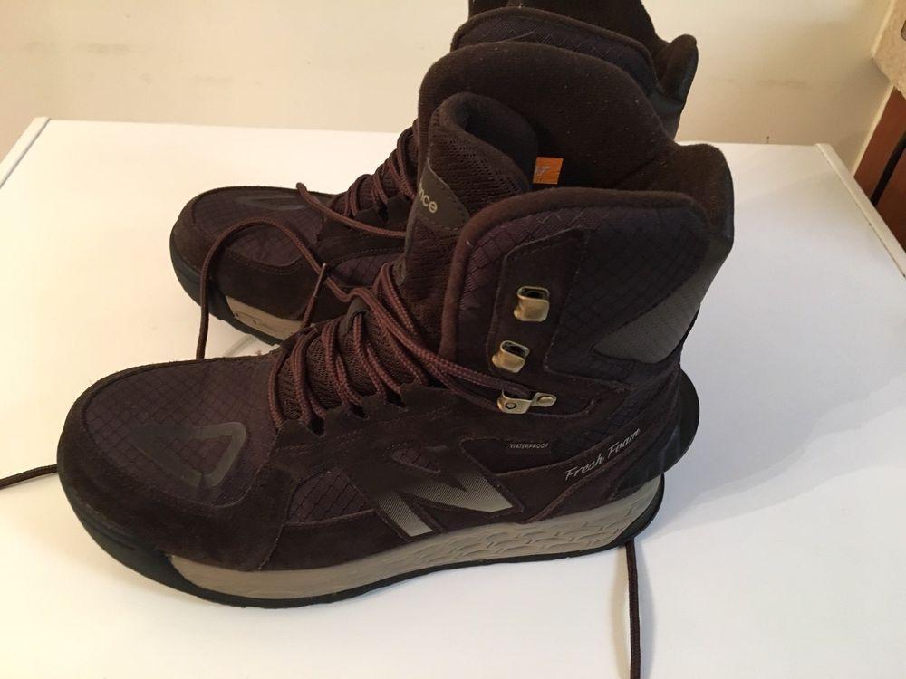 New Balance Men's Fresh Foam 1000 Boot Size 10D Brown BM1000BR NIB ...